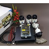 Bộ KIT Camera Dahua CVI vỏ nhựa: 1 đầu ghi + 4 mắt thân trụ Hàng chính hãng
