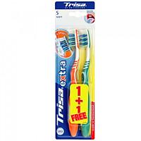 Vỉ Đôi Bàn Chải Đánh Răng Trisa Extra ProClean