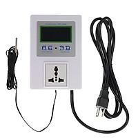 Bộ Điều Khiển Nhiệt Độ Thông Minh Có Dây Với Công Tắc Cảm Biến Nhiệt Và Màn Hình LCD Kỹ Thuật Số (AC110-240V) (10A) (Đầu Cắm US)