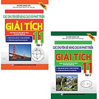 Combo Các Chuyên Đề Nâng Cao Và Phát Triển Giải Tích 11 (tập 1 và tập 2)
