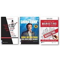 Combo BÙNG NỔ BÁN HÀNG CÙNG SHARK ROBERT HERJAVEC + Những chiến lược Marketing tạo ra lợi nhuận + Muốn bán hàng giỏi phải bán mình trước ( tặng kèm bút bi )