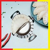 Khuôn Inox 304 làm Bánh Xếp,Bánh Bột Lọc,Sùi Cảo chất liệu Inox 304 Không gỉ Cao Cấp,Thiết kế tai cầm liền với thân tạo cảm giác chắn chắn,nhỏ gọn,Bề mặt mịn dễ lau rửa sau khi sử dụng - Dụng cụ làm bánh Xếp,Bánh bột lọc,Há cảoLoại tai liền