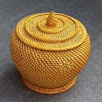 Bộ Giành Tích ủ trà xanh loại 1.5 lít - vàng
