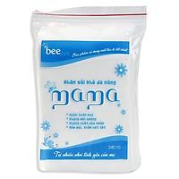 Combo 10 bịch khăn vải khô đa năng Mama (bịch 240 tờ)