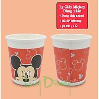 Ly giấy Disney dùng 1 lần- 280ml-50 cái/lốc