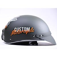 Mũ bảo hiểm Chita CT6B1 - Ron caro - Tem Moto (Freesize)