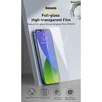 Kinh cường lực Baseus 0.3mm Full-glass Tempered Glass Film Cho iPhone 12 Mini / iPhone 12/ iPhone 12 Pro/ iPhone 12 ProMax (2 miếng / hộp)_ Hàng Chính Hãng