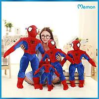 Gấu bông Người nhện Spider Man cao cấp - Hàng chính hãng Memon - Đồ chơi thú nhồi bông Người Nhện Spider Man, Bông Gòn PP 3D tinh khiết, đàn hồi đa chiều, bền đẹp, an toàn cho người sử dụng.