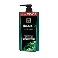 Dầu gội cao cấp Romano Classic cổ điển lịch lãm tóc chắc khỏe 900gr