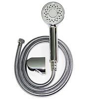 Bộ tay dây sen siêu tăng áp 3 chế độ phun nước Eurolife EL-106SH-N (Trắng bạc)