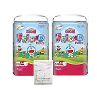 Combo 2 bịch Goon Friend siêu đại - Tặng Set 8 khăn xô in hình cho bé