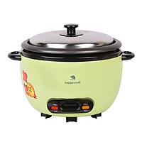 Nồi Cơm Điện Nắp Rời Cơ Happy Cook HCD-061A (0.6L) - Hàng chính hãng