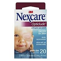 Combo 5 hộp Băng dán mắt khắc phục chứng suy giảm thị lực 3M Nexcare cỡ bé(20 miếng/hộp)