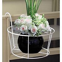 Giá đỡ chậu hoa treo ban công ( Màu ngẫu nhiên)