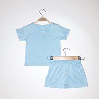 Đồ bộ quần áo cộc hè peekaboo cho bé phong cách hàn quốc chất liệu 100% cotton thun lạnh mát mềm mịn cao cấp trai và gái