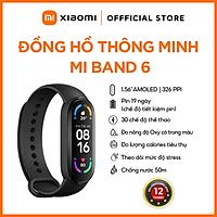 Vòng Đeo Tay Thông Minh Xiaomi Mi Band 6 - Hàng Chính Hãng