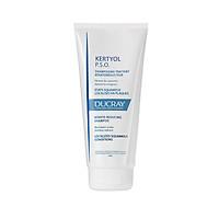 Dầu gội cho gàu mảng cục bộ, vảy nến Ducray KERTYOL PSO Shampoo 125 ml (Nhập khẩu)
