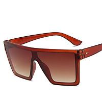 Men Women Retro Sunglasses Big Full Frame Dual Color Driving Riding Fashion Sun Glasses