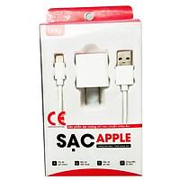 Combo Củ Sạc + Cáp Sạc Lightning BAGI I51N Cho iPhone - Hàng chính hãng