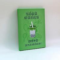 Tranh slogan canvas tạo động lực [trang trí quán trà sữa] TSV034 Trà đổ vào sữa hay sữa đổ vào trà Cocopic