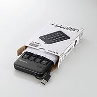 Bàn phím số Elecom TK-TCM011BK/RS - Hàng chính hãng