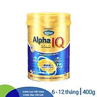 Sữa Bột Vinamilk Dielac Alpha Gold IQ Step 2 Hộp Thiếc (400g)