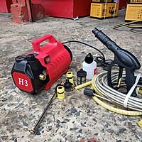 Máy phun xịt rửa xe áp lực khủng AWA H3 chỉnh áp