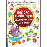 Bóc Dán Thông Minh Vừa Học Vừa Chơi 2-6 Tuổi - Khả Năng Phán Đoán