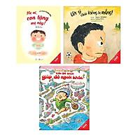 Sách Ehon Kĩ năng sống cho trẻ 3-8 tuổi Ước gì cháu không bị mắng, Cậu bé thích giúp đỡ người khác, Mẹ ơi con tặng mẹ này