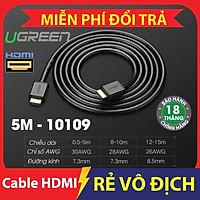 Cáp HDMI 5m chính hãng Ugreen 10109 chất lượng cao