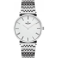 Đồng Hồ Nam SRwatch SG8702.1102 - Sapphire - 40mm - Quartz (Pin) - Dây kim loại