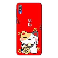 Ốp lưng dành cho điện thoại Samsung Galaxy M10 hình Mèo May Mắn Mẫu 3 - Hàng chính hãng