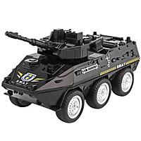 Đồ chơi mô hình xe cảnh sát bọc thép KAVY nhựa nguyên sinh an toàn bền và đẹp