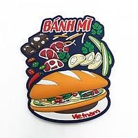 Nam châm lưu niệm - Bánh mì Việt Nam