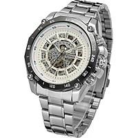 Đồng hồ nam Winner TM427 cơ lộ máy dây thép không gỉ - Fullbox chính hãng