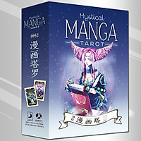 Combo Bộ Thẻ Bài Bói Mystical Manga Tarot+Tài Liệu Hướng Dẫn Tiếng Việt+Túi Nhung