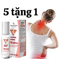 Dầu nóng xoa bóp, dầu lăn Alpha bone Extra giảm đau nhức cơ bắp, xương khớp 10ml