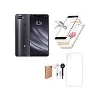 Xiaomi Mi 8 Lite 64GB Ram 4GB (Xanh) ShopOnline24 + Ốp lưng + Cường lực 5D Full màn + Tai nghe - Hàng nhập khẩu
