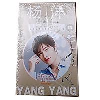 Photobook mini Dương Dương album ảnh tặng kèm poster tập ảnh tặng ảnh thiết kế Vcone