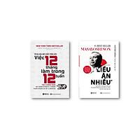 bộ sách 2 cuốn Masayoshi  Tỷ phú liều ăn nhiều --  Tối đa hóa hiệu suất công việc  Việc 12 tháng làm trong 12 tuần t