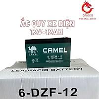 Bình ắc quy Xe điện CAMEL 12V-12AH - Hàng chính hãng được phân phối bởi DRACA
