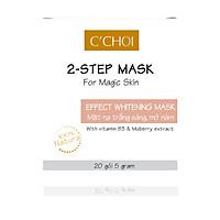 Mặt Nạ Trắng Sáng, Mờ Nám - 2-Step Mask