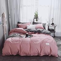 Bộ Vỏ Chăn + Tấm Trải Giường + Vỏ Gối Cho Phòng Ngủ (4 Món)