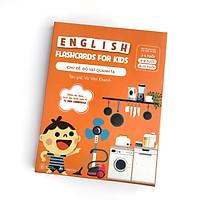 Bộ Thẻ Học (Flashcards) Thông Minh Song Ngữ Anh - Việt Phiên Âm chuẩn CAMBRIDGE - Chủ đề : Đồ Vật Quanh Ta (3 - 10 tuổi)