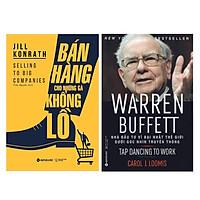 Combo Sách Kinh Tế : Bán Hàng Cho Những Gã Khổng Lồ + Warren Buffett - Nhà Đầu Tư Vĩ Đại Nhất Thế Giới Dưới Góc Nhìn Truyền Thông