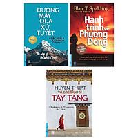 Combo Sách Kỹ Năng Tư Duy: Đường Mây Qua Xứ Tuyết + Huyền Thuật Và Các Đạo Sĩ Tây Tạng + Hành Trình Về Phương Đông (Sách Nuôi Dưỡng Tâm Hồn / Sách Bán Chạy)
