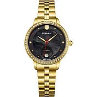 Đồng hồ nữ mặt xà cừ chính hãng Thụy Sĩ TOPHILL TE037L.M2037