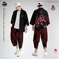 Set đồ Haori nam Kimono Yunhe Jiuxiao phong cách Nhật Bản siêu chất BSK07