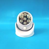 Đèn cảm ứng hồng ngoại 7 led không dây tự động tắt mở