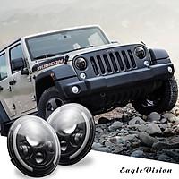 2 pcs 7 Inch 200W 4300K 6000K LED Headlight for Jeep Wrangler CJ JK TJ LJ